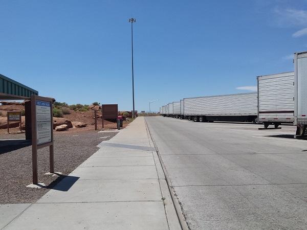 So many trucks ...