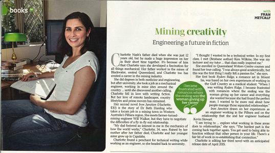 Interviewed by Fran Metcalf in Brisbane News #978, 2014