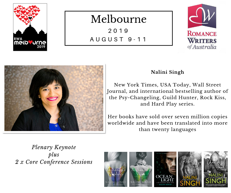 If you don't know Nalini Singh and her work, get thee to a bookstore!