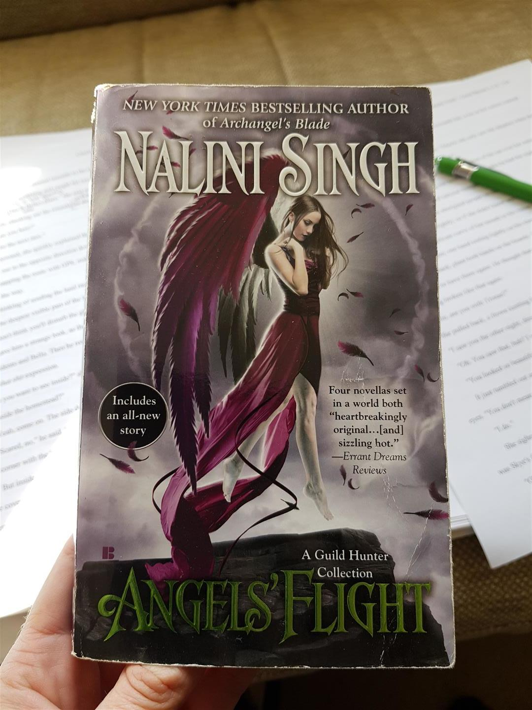 My much-handled copy of  Angel's Flight