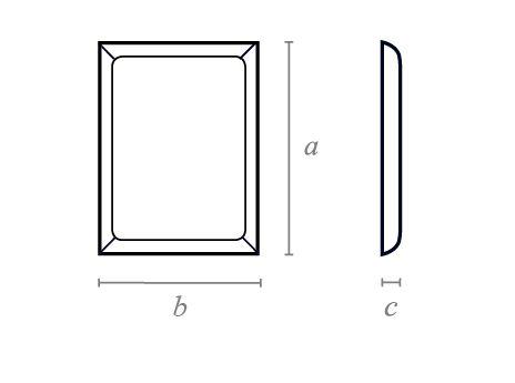 Rectangle Chamfered Block