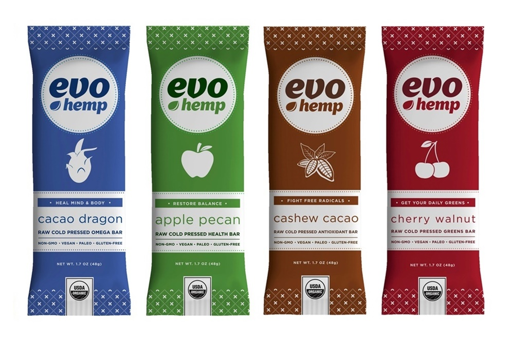 EVO HEMP BARS.   Raw, paleo, vegan, delicious.  A perfect pre-or-post-float snack!   $3.50 EACH