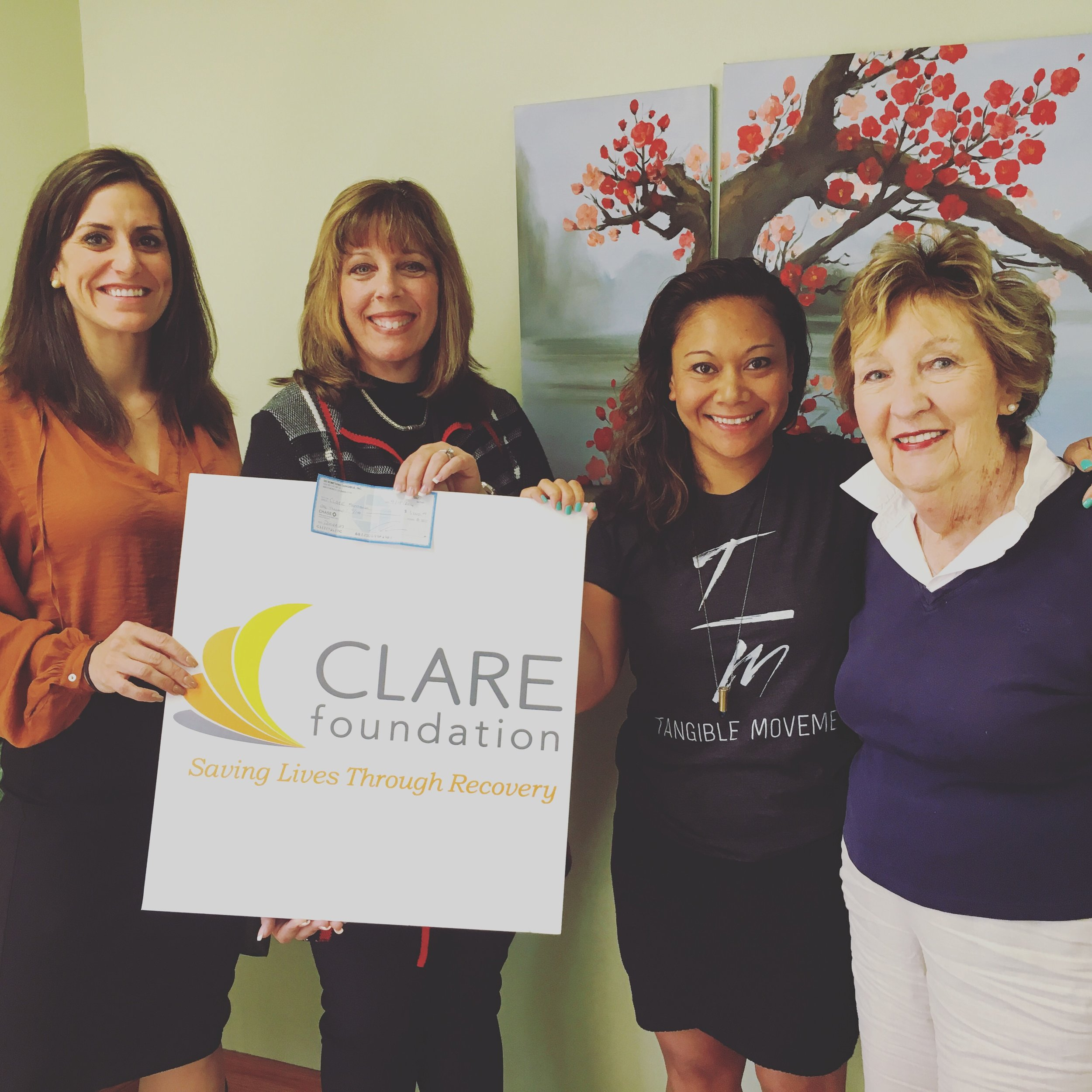 Clare Foundation & Tangible Movement