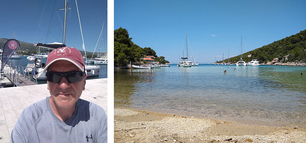 Matt in Croatia
