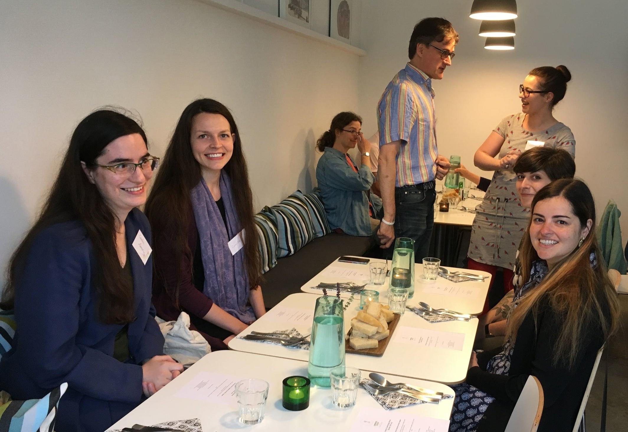 Welcome dinner, Cambridge Cookery School