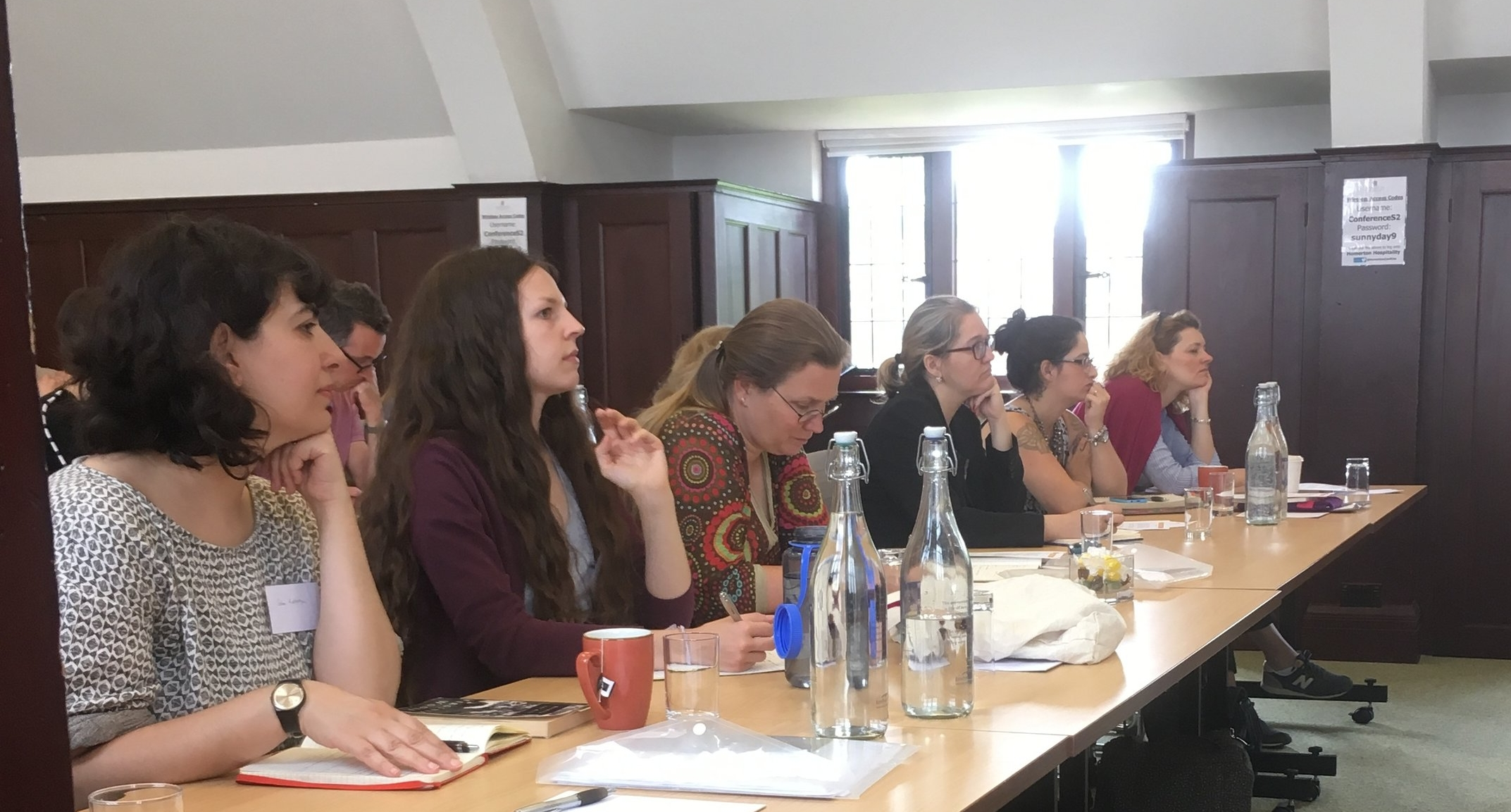 Lecture, Paston Brown Room, Homerton College