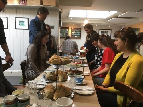 Tea at Fitzbillies