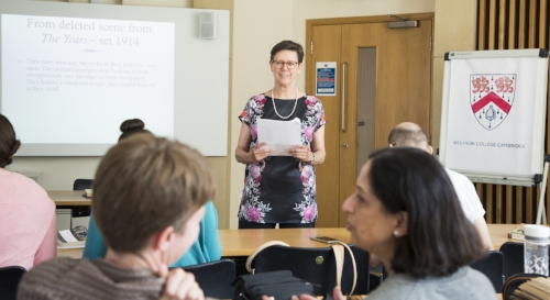 Trudi Tate, Lecture on  The Times  and  The Years , Virginia Woolf and Politics Summer Course, July 2018