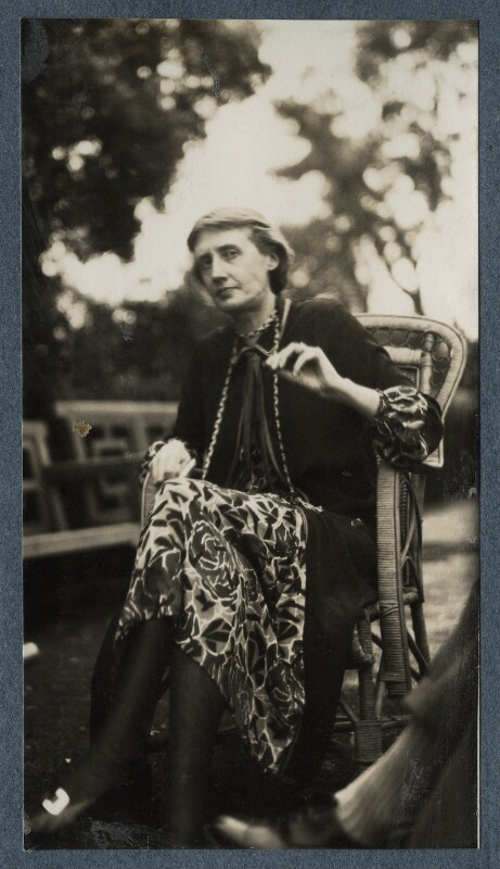 Virginia Woolf, photographed by Vita Sackville West
