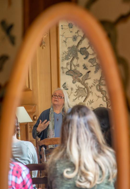 Alison lecture mirror 1 Girton **.jpg