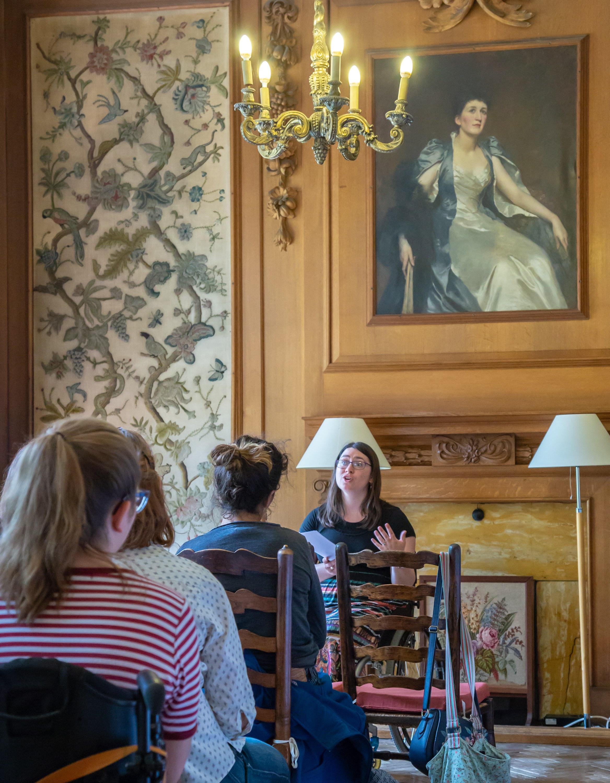 Clare WG lecture Girton.jpg