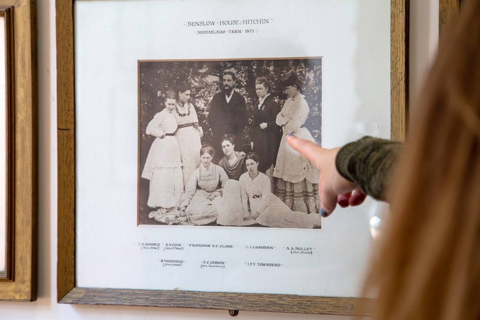 Girton b+w photo of early students in frame.jpg