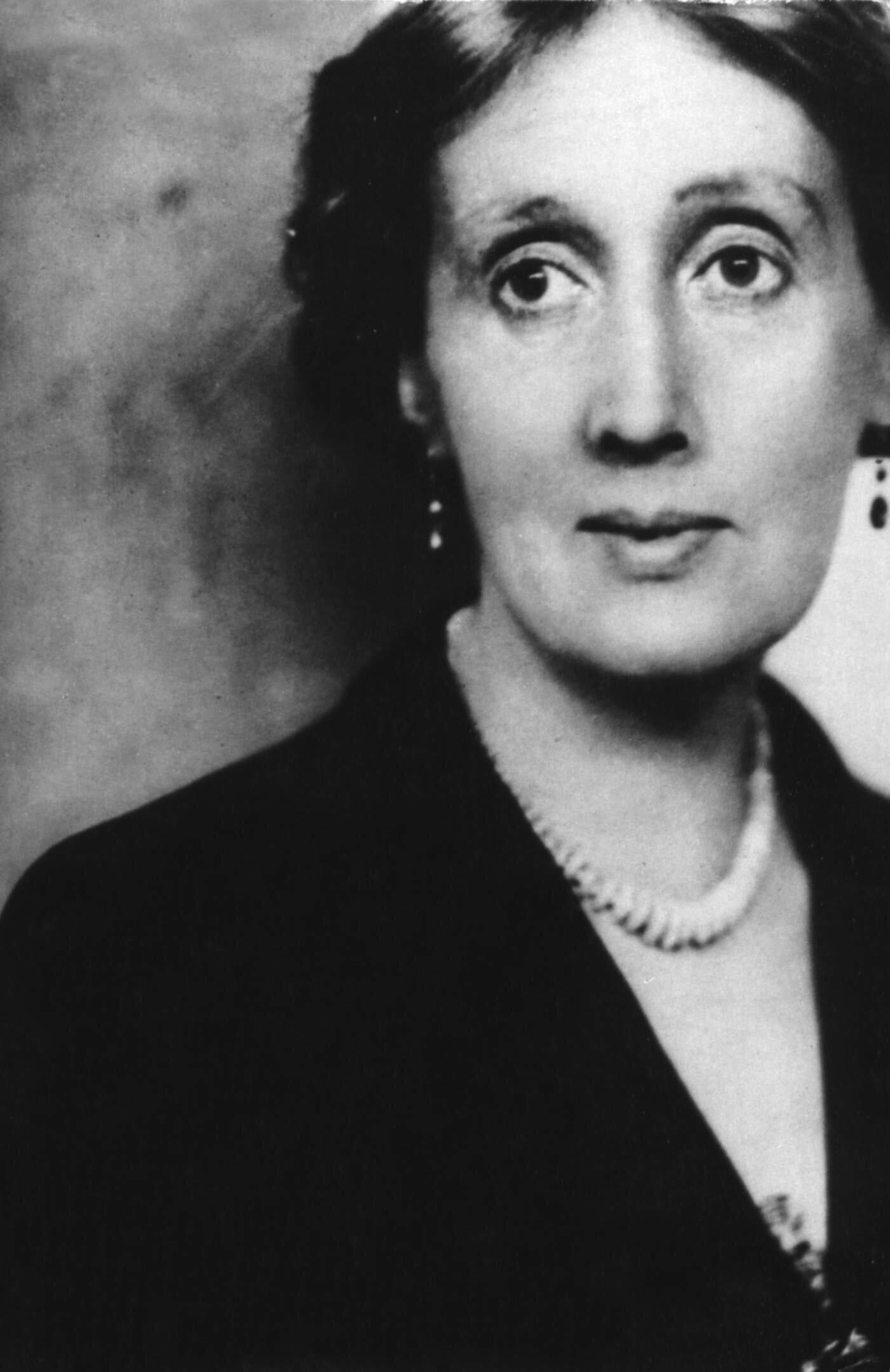 Virginia Woolf B+W * 600kb.jpg