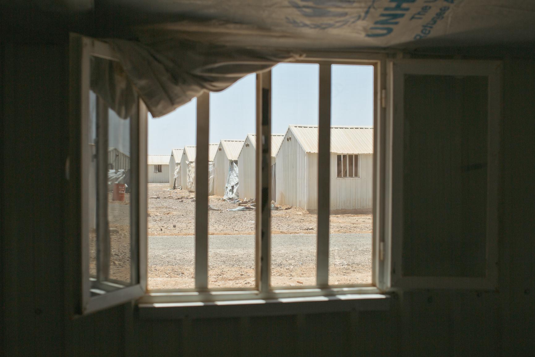 Azraq Refugee Camp, Jordan