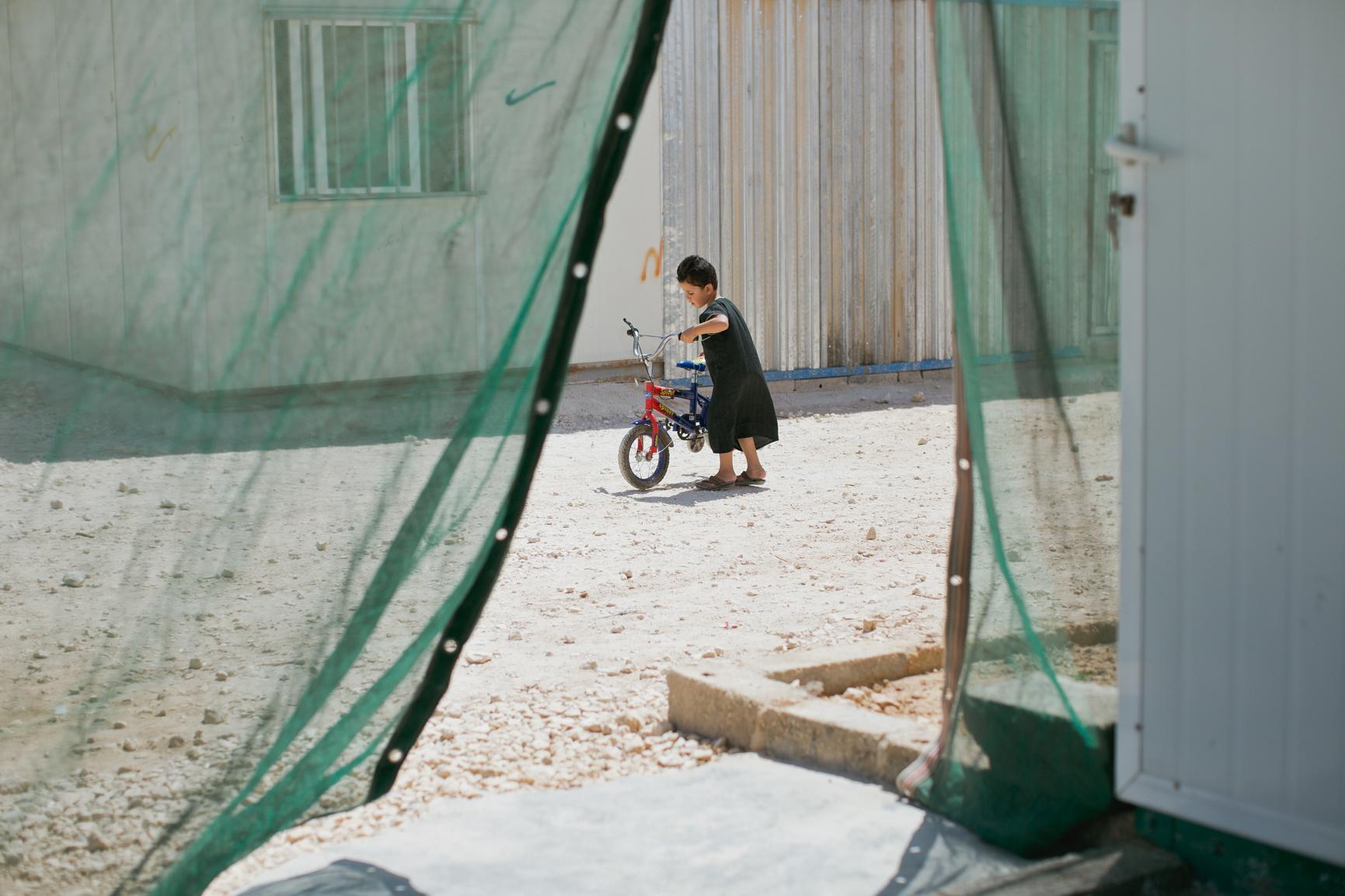 Layth, Zaatari Refugee Camp, Jordan