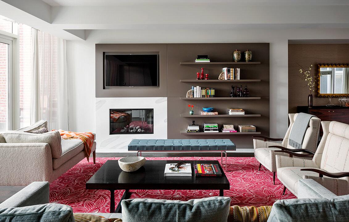 Living Room Wall Units Wood Co