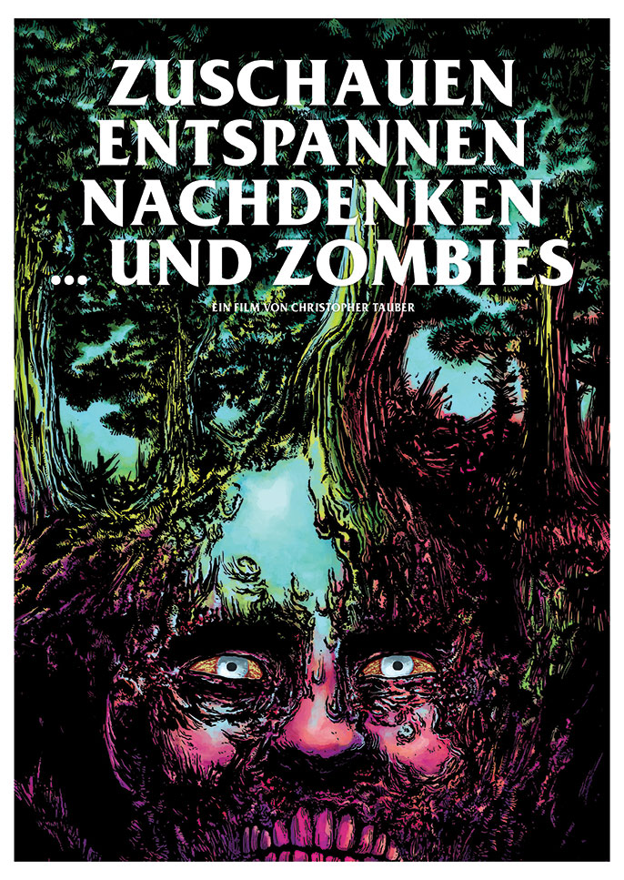 "While working on the next movie ""The most beautiful railway"", Alexander Fechner came up with a great idea for a poster for ZEN and Zombies."