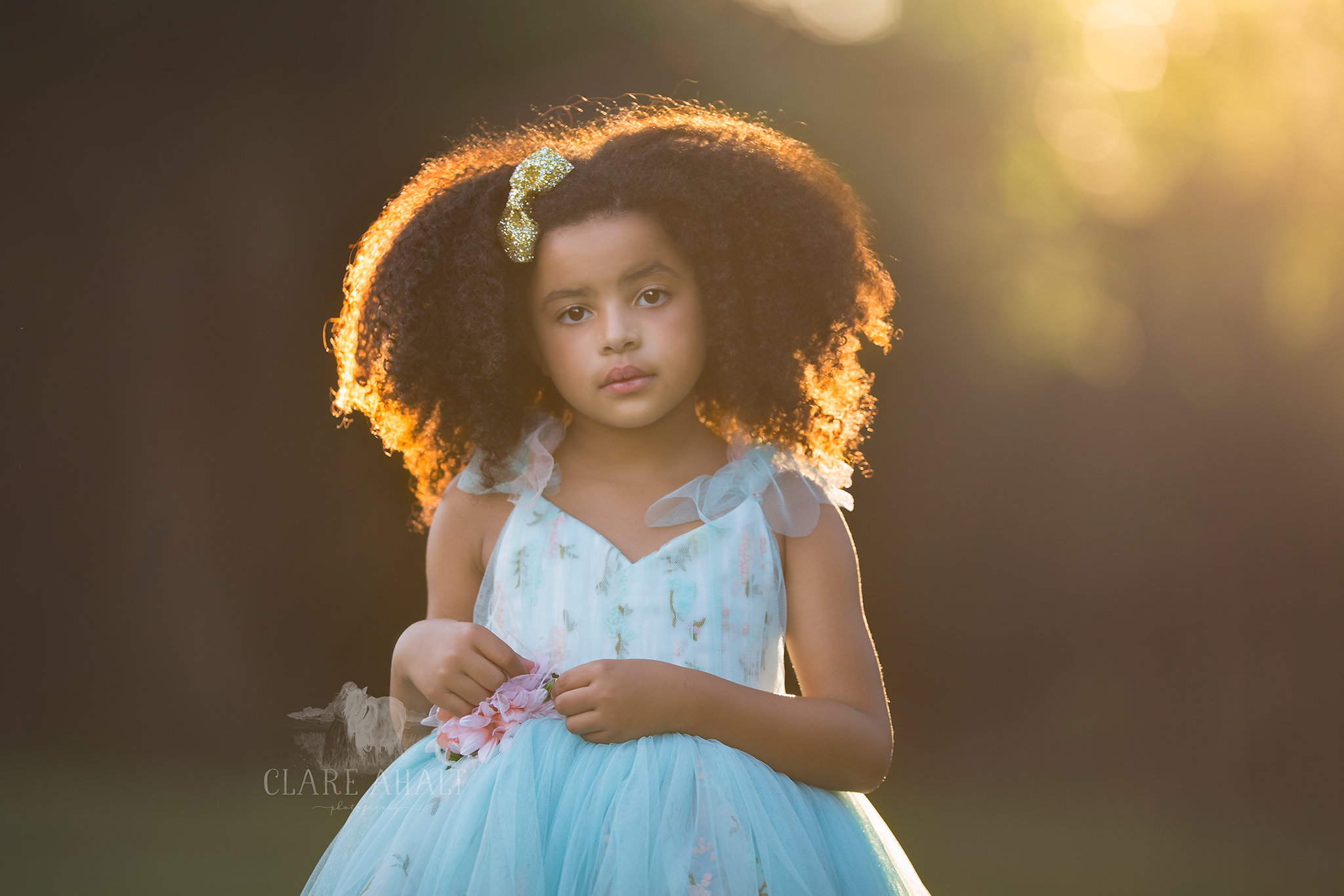 Portrait of a chid taken at a Meg Bitton Photography workshop by Clare Ahalt Photography