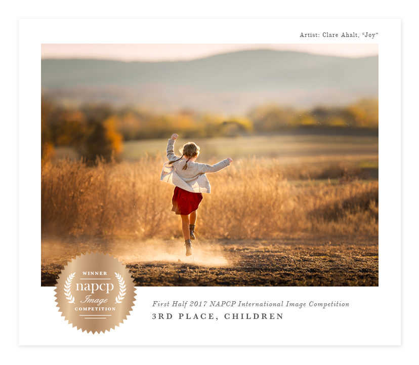 award winning photographer by Clare Ahalt Photography, a fine art portrait photographer located in Maryland, serving clients in Maryland, Northern Virginia and Washington DC.