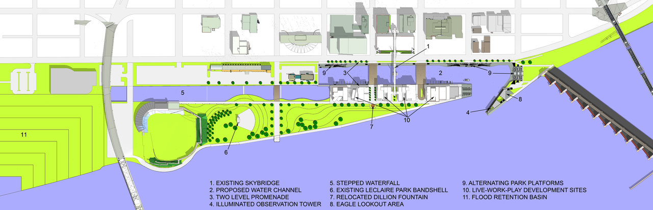 Interactive Flood Prevention Plan - City of Davenport completed by Andrew Dasso, AIA