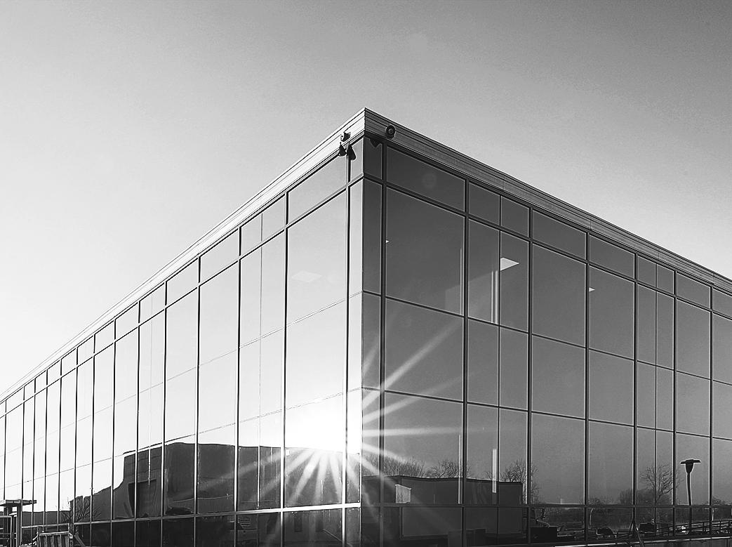 East Moline Glass Headquarters - Argus Dispatch Headquarters - East Moline, Illinois