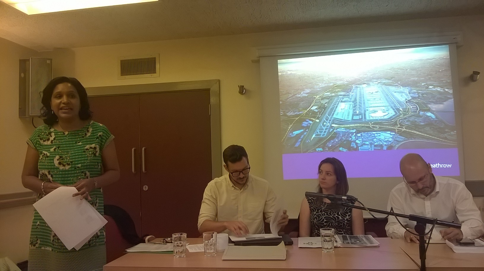 local MP janet DABY ORGANISED A MEETING IN catford on 26th July . London City, Heathrow and NATS presenting. Much concern from a packed room about noise and a desire for the two airports to collaborate to provide periods of respite.