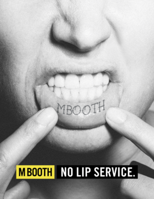 "Creative Director for M Booth's 2016 PRWeek Ad campaign. We ""gave"" tattoos to employees. This one is my favorite."