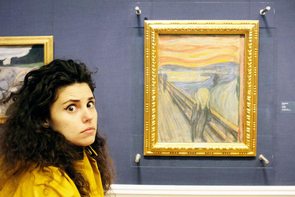 Skriiiiiik by Edvard Munch.