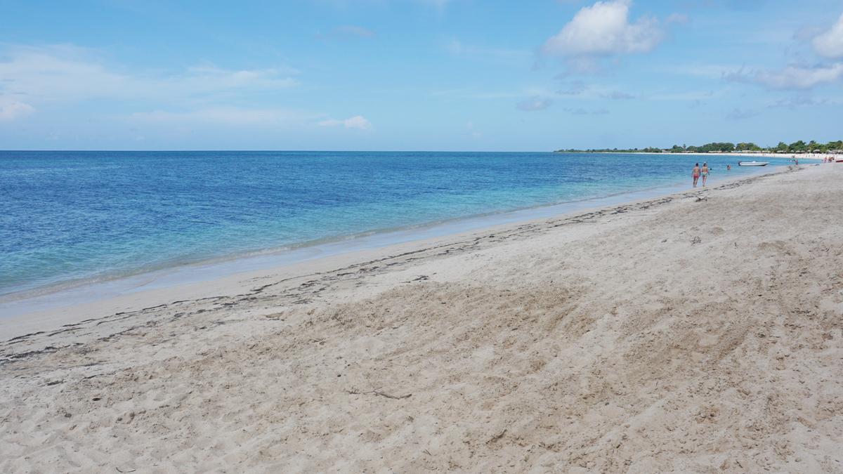 The beautiful beach at Playa Ancón