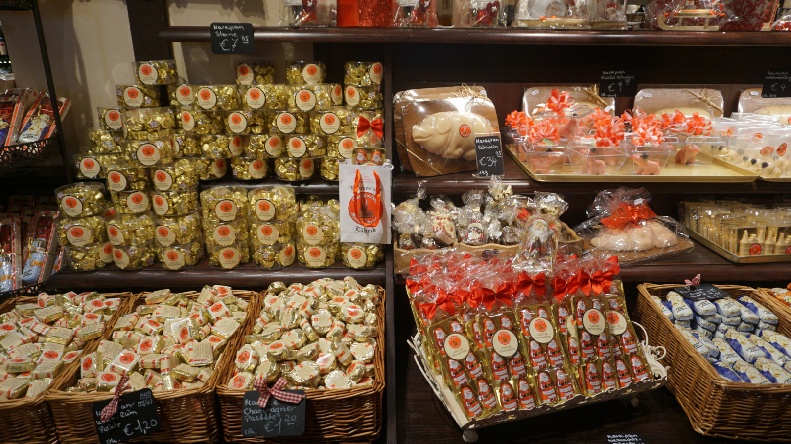 All the marzipan you could want at Die Lübecker Marzipan-Speicher!