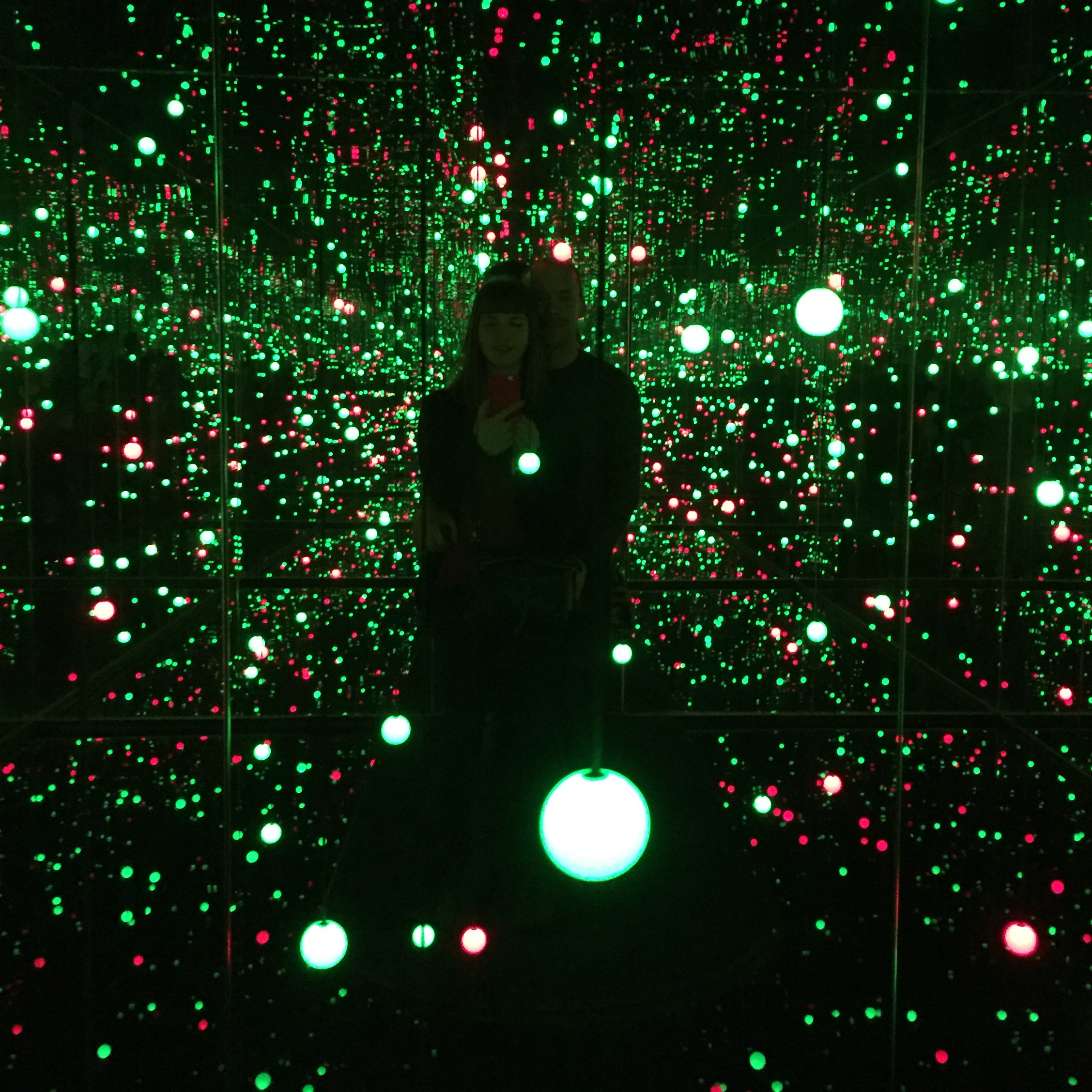 The Yayoi Kusama exhibit at the Louisiana, January 2016
