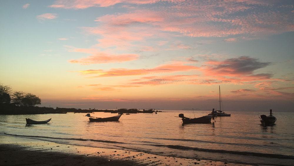 Another gorgeous sunset... Koh Lanta