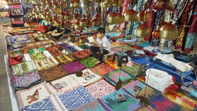 The night market, Luang Prabang