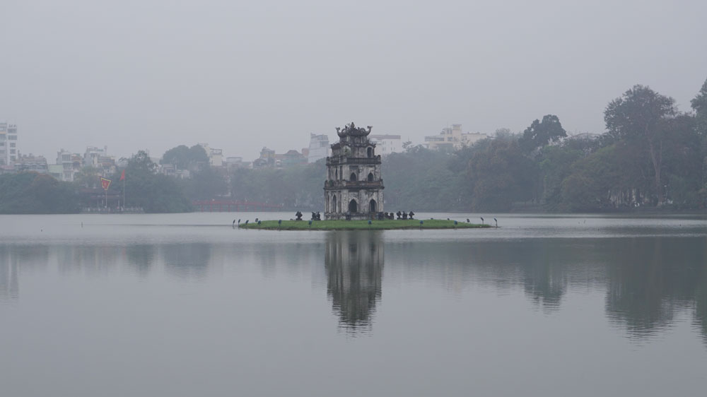 The grey and cold was a shock in Hanoi