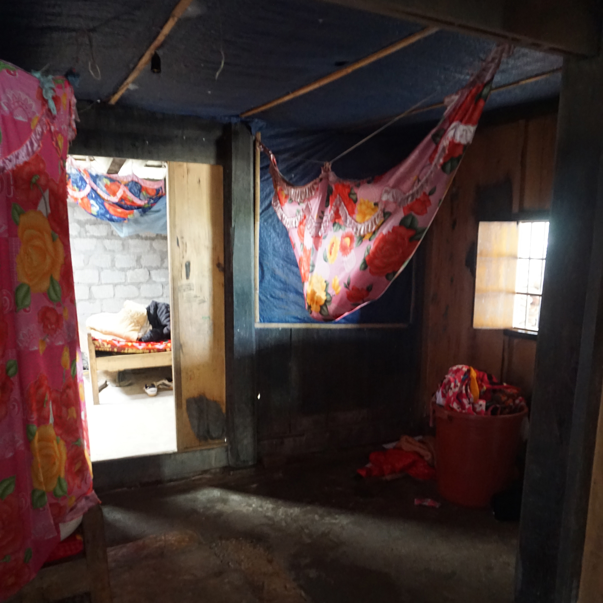 The home where I stayed with 16 backpackers,Sapa