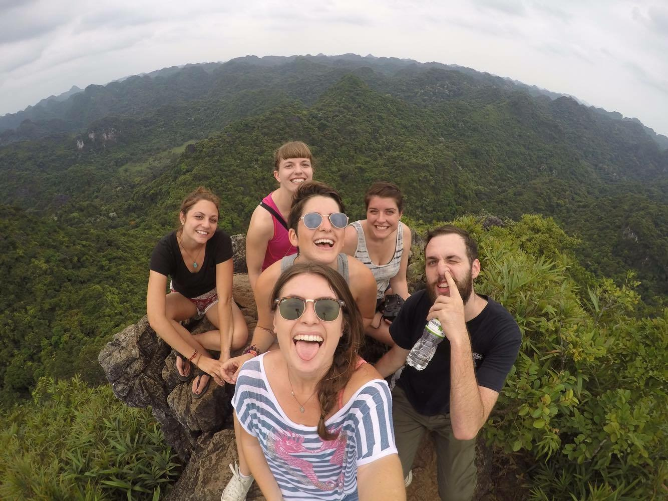 Hiking on Cat Ba Island