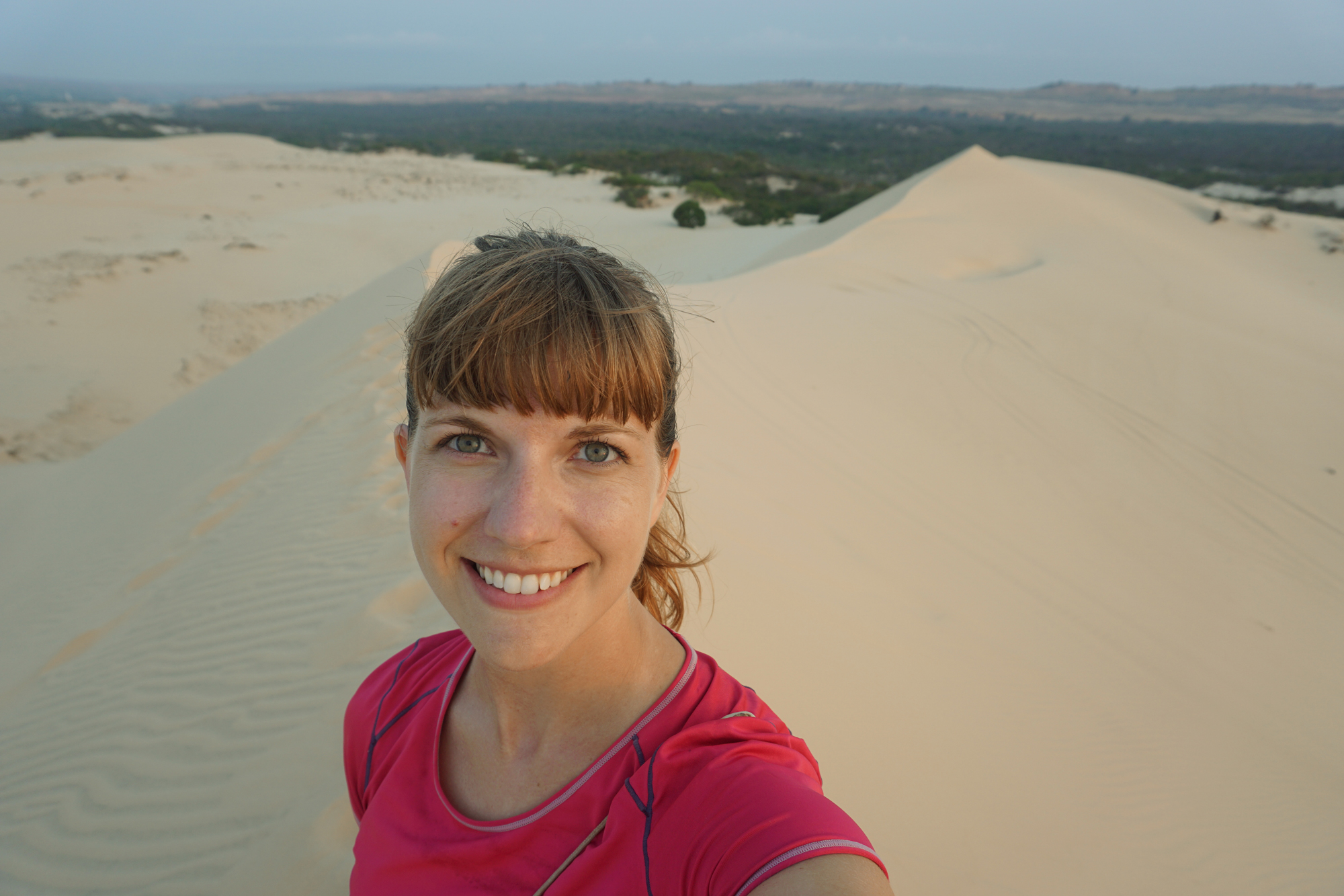 Sunrise at the sand dunes, Mui Ne