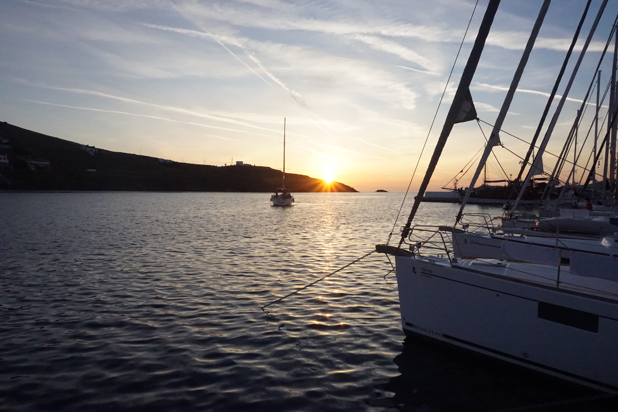 Sailing in the Aegean Islands