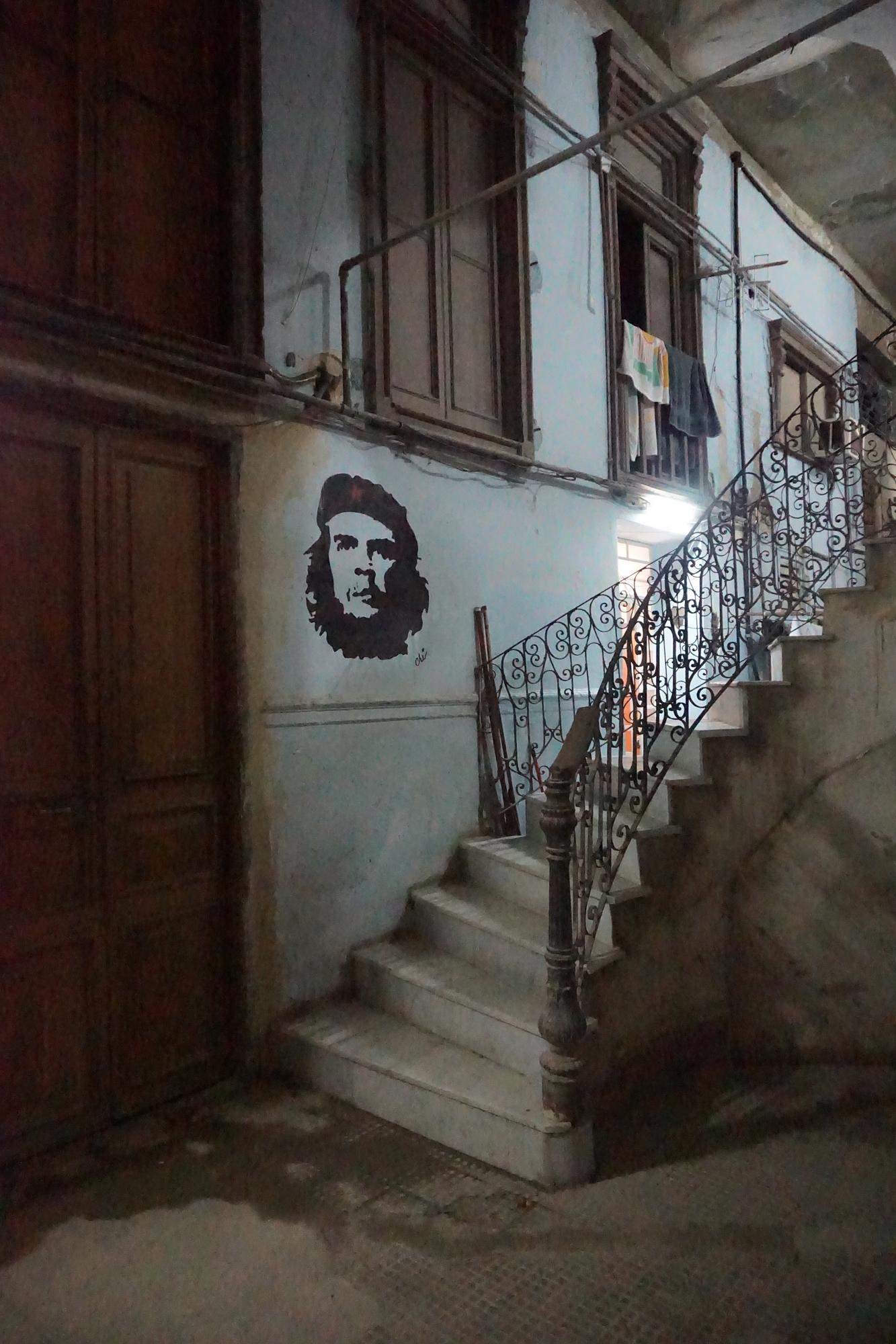 Entryway to a hidden restaurant, Havana