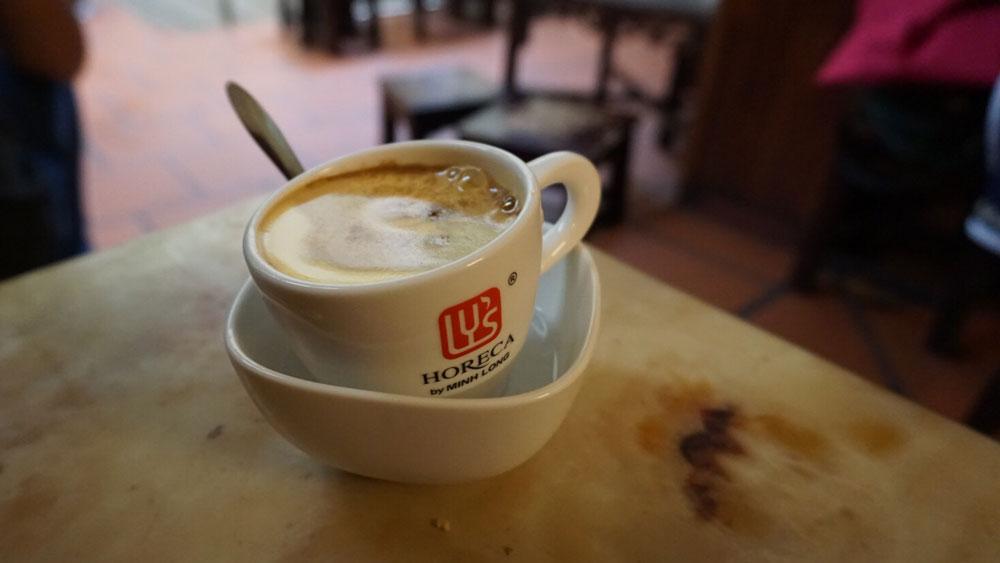 Egg coffee, Hanoi, Vietnam