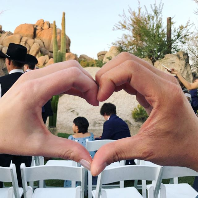 What an incredible wedding weekend! Thank you @evyenia and @dane.lyons for inviting us to be a part of your story in this beautiful place ❤️🥂🌵#perspectivewars