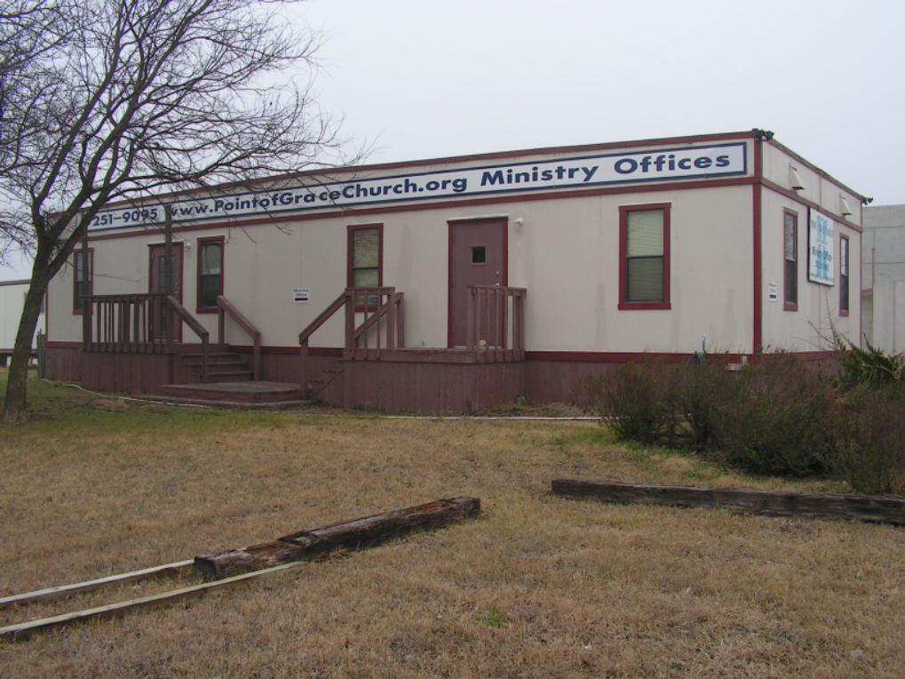 Early church office trailer