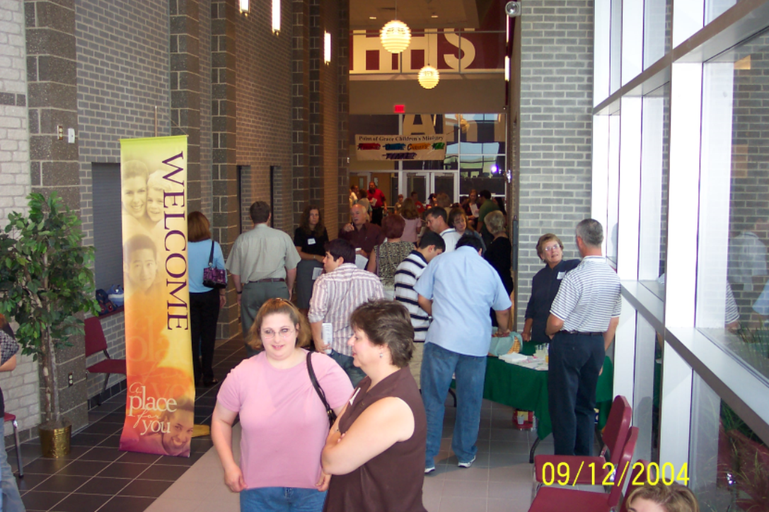 Point of Grace then move to Hendrickson High School in 2004 and continued worshiping there until moving to its permanent location in early 2009.