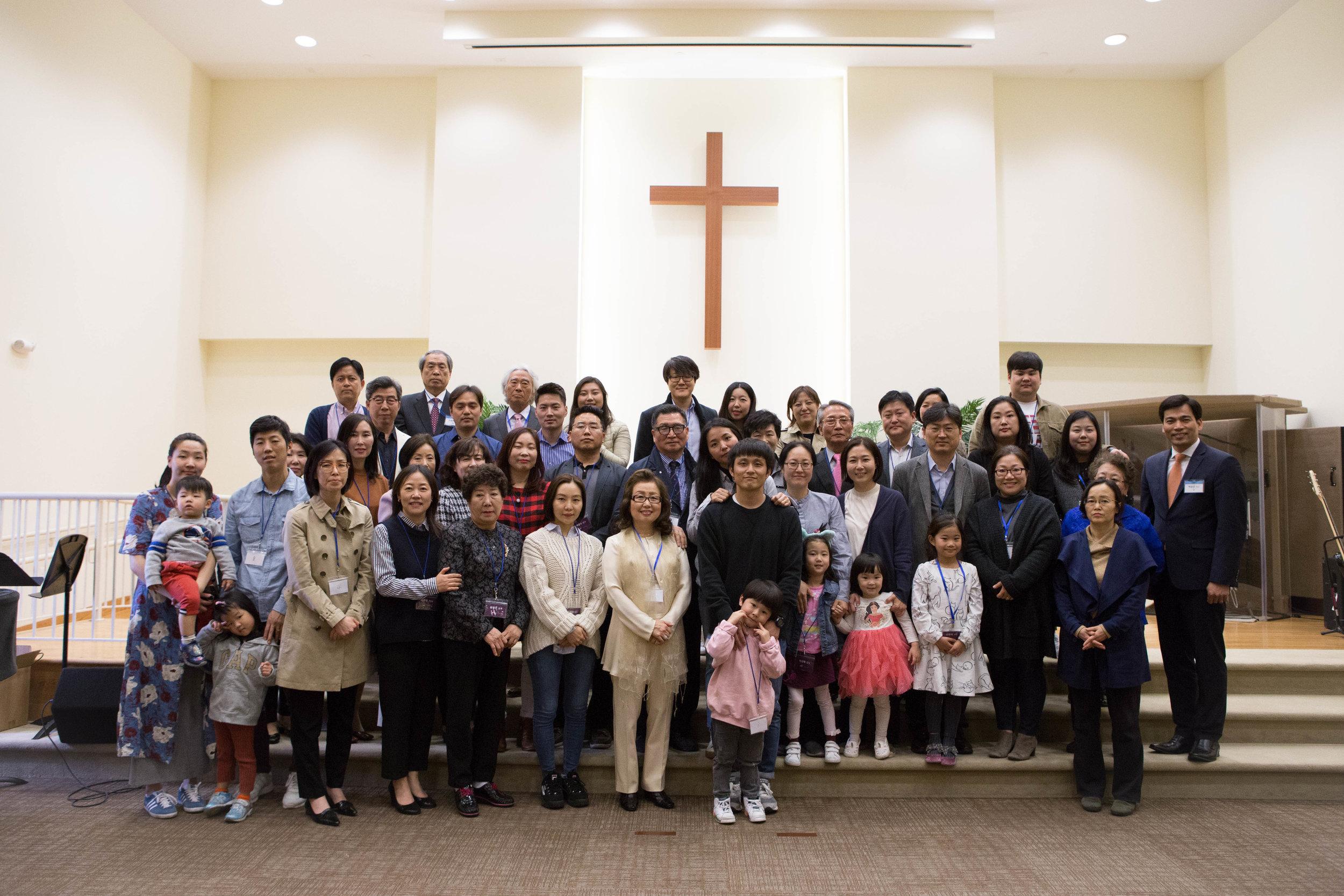 4/5 새가족 환영회 - 2018년 12월부터 2019년 3월까지 참된교회에 등록하신 새가족을 모시고 환영하며 축복하는 새가족 환영회가 열렸습니다.