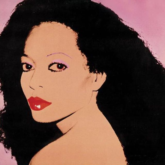 The cover art for Diana Ross' Silk Electric album, 1982. #tbt. The previous year, Andy Warhol did a Q&A with Ross for @interviewmag. Over cheeseburgers and fries at the Carlyle Hotel, they talked about everything from Studio 54 closing, to how she roller skated for exercise. At one point, Ross mentioned her interest in creating a fragrance and fashion collection one day. More than three decades later, she has released her very first fragrance, called Diamond Diana💎