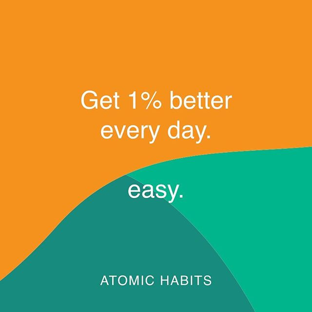 Small changes grow. Making minuscule moments matter, one little step at a time, compound to deliver big results. ⭐️ The same works backwards .. just saying... 📖 #atomichabits by James Clear