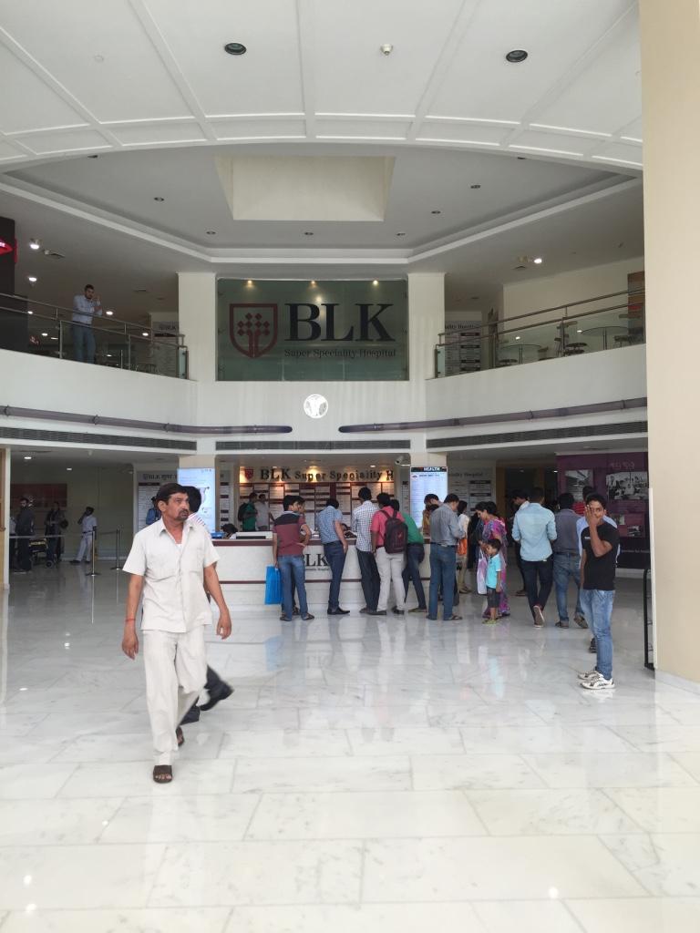 BLK Hospital, New Delhi, India