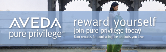 GiGiLarue is an official Aveda Pure Privilege Salon and Spa