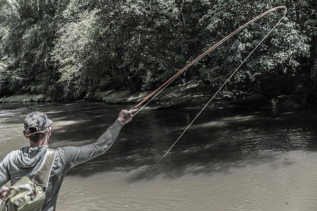 Muddy water gets us bent #flyshopco #flyfishing #troutcapital #georgia #craftedforchaos