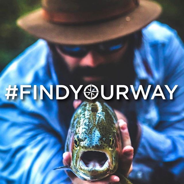 #FINDYOURWAY We're on a mission to educate, equip, and empower a new generation of outdoor enthusiasts. That being said we want you to get back outside! So while you are on the water show us how you are finding YOUR way - by trying to replicate this photo from @flyshopco exactly for a chance to be featured on our page. All you have to do is: Step 1: Get outside Step 2: Replicate the photo with any fish Step 3: Tag @waypointoutdoorcollective and use the hashtag #findyourway 📸 @reidogd